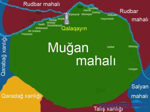 ARXİV  MATERİALLARI.  Qalağayın (indiki Sabirabad) 1820-30-cu illərdə