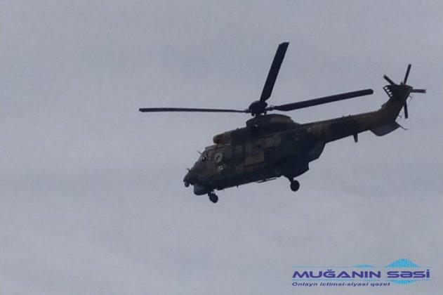 Nasaz olan helikopter  Azərbaycanın Türkiyədə məcburi eniş edən helikopterində nasazlıq aradan qaldırıldı - FOTO