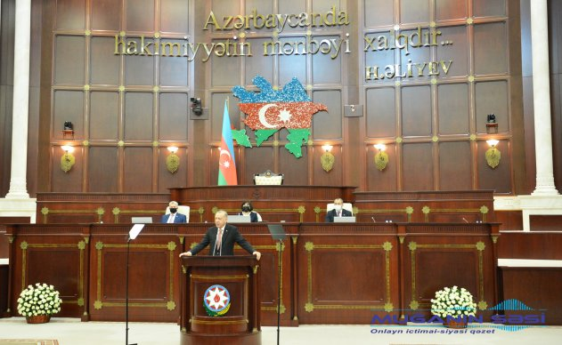 Türkiyə Prezidenti Rəcəb Tayyib Ərdoğan Milli Məclisdə çıxışı zamanı dünya birliyinə mühüm mesajlar ünvanladı